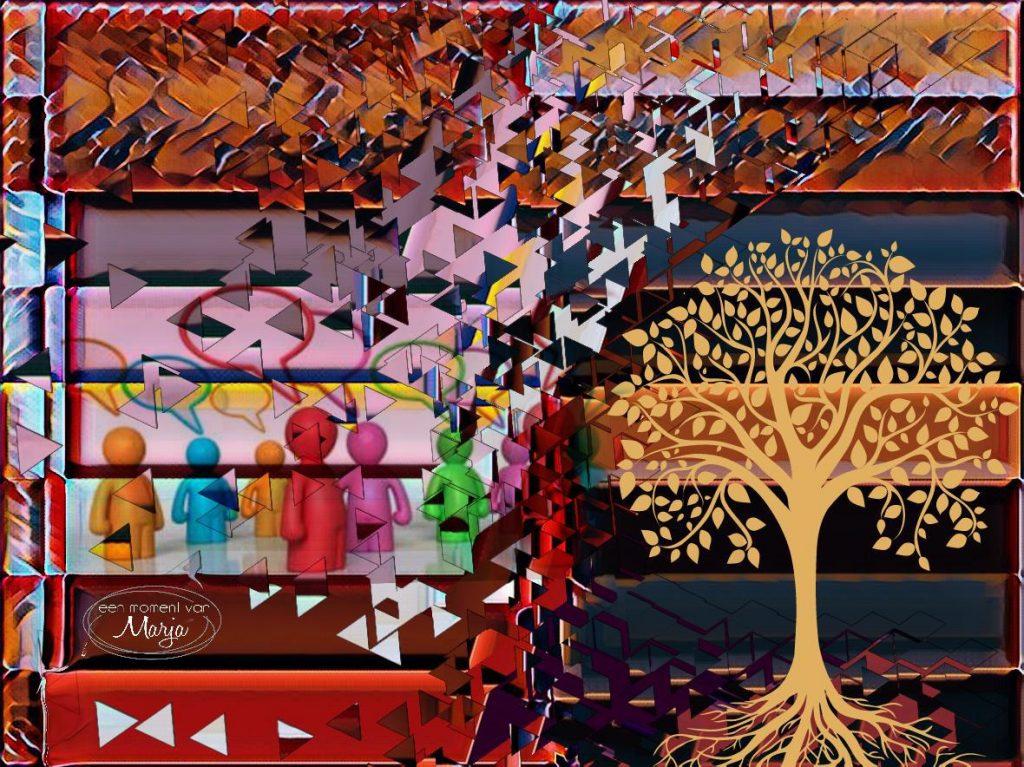 collage rooz niet kunnen slapen marja